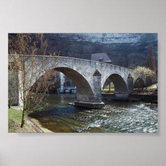 Rusic Bridge Poster