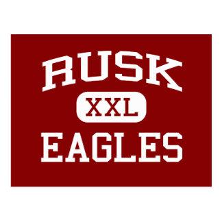 Rusk - Eagles - Rusk High School - Rusk Texas Postcard