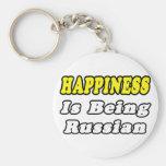 Ruso de la felicidad… llavero personalizado