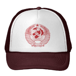 Ruso del vintage de la guirnalda del escudo de arm gorras