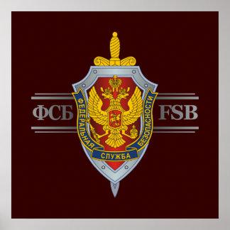 Ruso FSB Póster