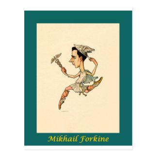 ~ ruso Mikhail Fokine de la caricatura del ballet Postal
