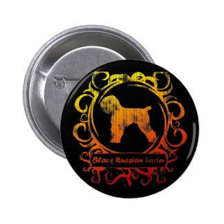 Ruso negro resistido con clase Terrier Pin