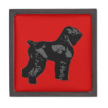 Ruso negro Terrier Cajas De Joyas De Calidad