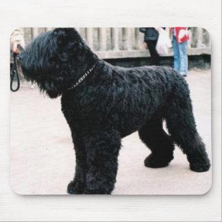 Ruso negro Terrier Mousepad Tapete De Raton