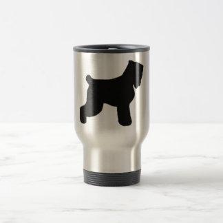 Ruso negro Terrier Taza De Viaje