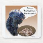 Ruso negro Terrier Turquía Alfombrilla De Ratones