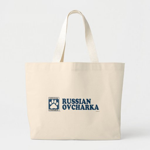 RUSO OVCHARKA_blue Bolsas