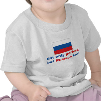 Ruso perfecto camisetas