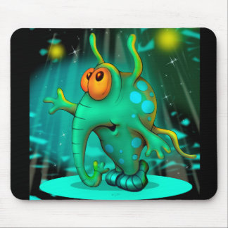 RUSS ALIEN MONSTER CARTOON  Mousepad