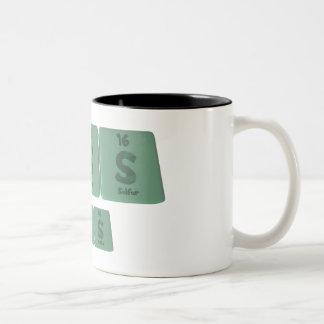 Russ as Ruthenium Sulfur Sulfur Two-Tone Coffee Mug