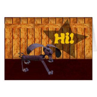 ¡Russ el perro! Tarjeton