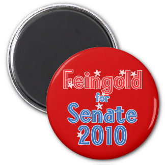 Russ Feingold for Senate 2010 Star Design 2 Inch Round Magnet