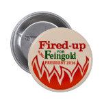Russ Feingold para el presidente 2016 Pin