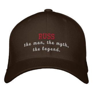 Russ la leyenda gorros bordados