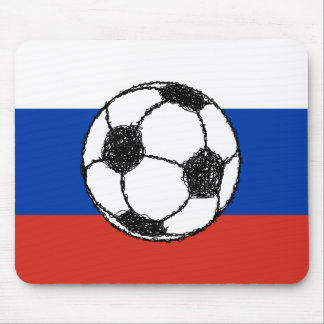 Russa Flag | Football Sketch Mouse Pad
