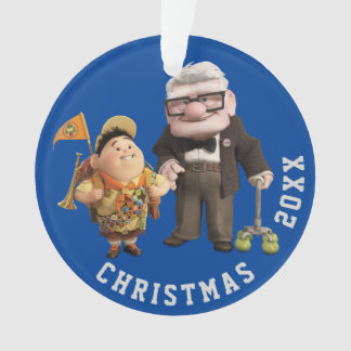 Russell and Carl from Disney Pixar UP! Ornament