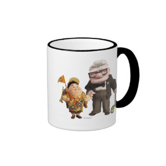Russell and Carl from Disney Pixar UP! Ringer Mug