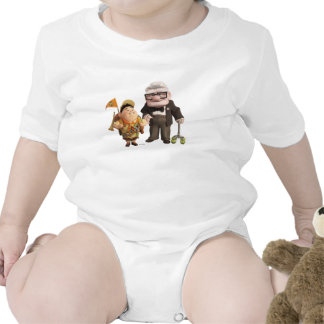 Russell and Carl from Disney Pixar UP! T Shirt