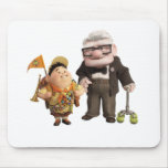 Russell and Carl Mouse Pad