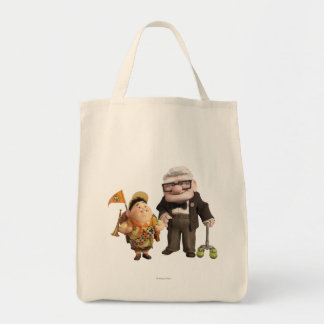 Russell and Carl Tote Bag