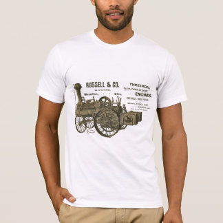Russell and Co. Steam Traction Engine farm 1889 T-Shirt
