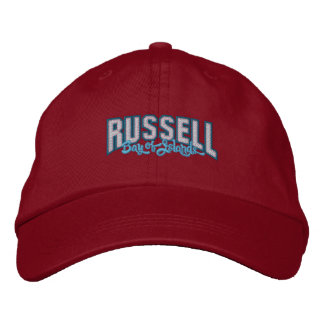 RUSSELL Bay of Islands – Embroidered cap