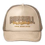 Russell Bay of Islands New Zealand cap Hat