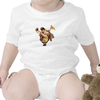 Russell blowing bugle - Disney Pixar UP 2 T Shirt