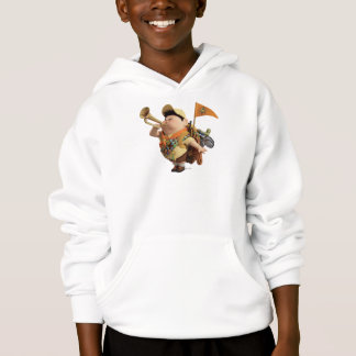 Russell blowing bugle - Disney Pixar UP Hoodie