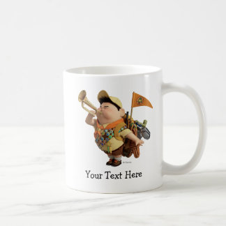 Russell blowing bugle - Disney Pixar UP Classic White Coffee Mug