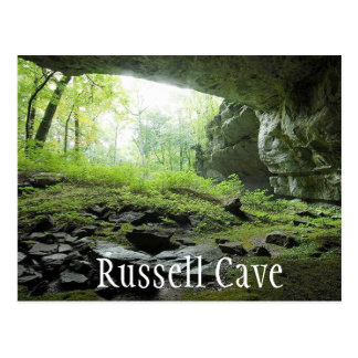 Russell Cave National Monument, Alabama Postcard