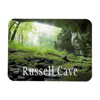 Russell Cave National Monument, Alabama Rectangular Photo Magnet