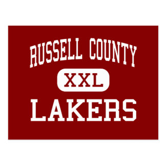 Russell County - Lakers - High - Russell Springs Postcard