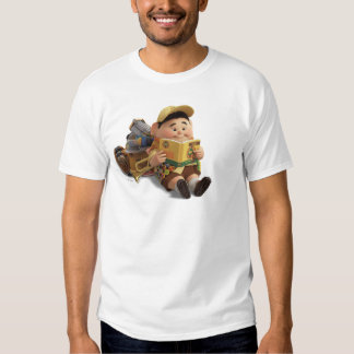 Russell de Disney Pixar ENCIMA de la película Camisas