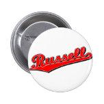Russell en rojo pin
