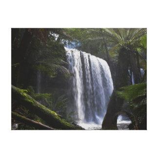 RUSSELL FALLS TASMANIA AUSTRALIA CANVAS PRINT
