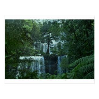 RUSSELL FALLS  TASMANIA AUSTRALIA POSTCARD