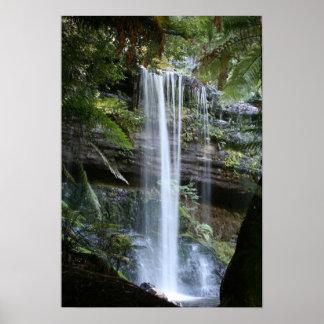 Russell Falls, Tasmania, Australia Poster
