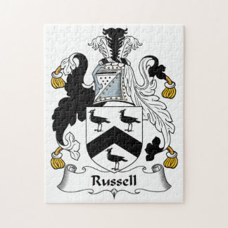 Russell Family Crest Puzzles