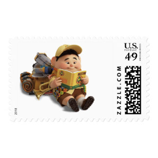 Russell from the Disney Pixar UP Movie Postage Stamp