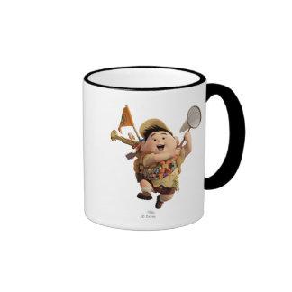 Russell from the Disney Pixar UP Movie Running Ringer Coffee Mug