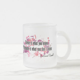 Russell Frosted Glass Coffee Mug