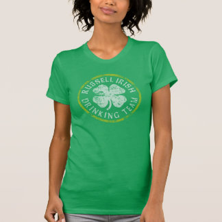 Russell Irish Drinking Team St Patrick's Day T-Shirt