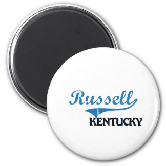 Russell Kentucky City Classic 2 Inch Round Magnet