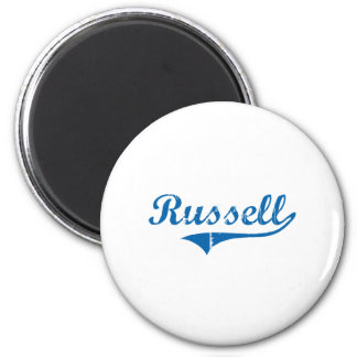 Russell Kentucky Classic Design 2 Inch Round Magnet