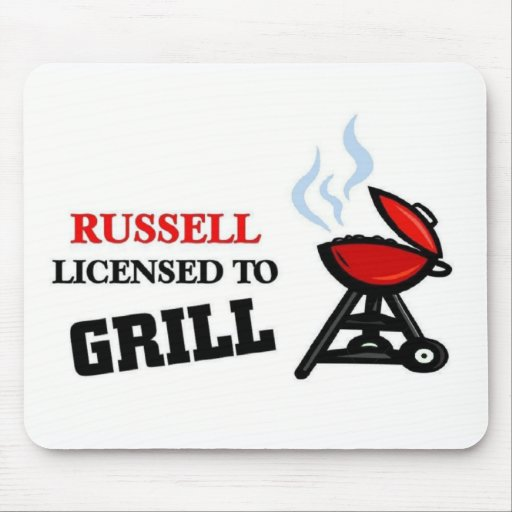 Russell licensed to Grill Mouse Pad