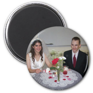 Russell & Natalie Reed 2 Inch Round Magnet