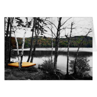 Russell Pond Woodstock New Hampshire Card