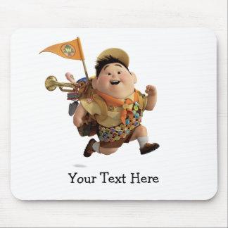 Russell que corre de Disney Pixar PARA ARRIBA Alfombrillas De Raton